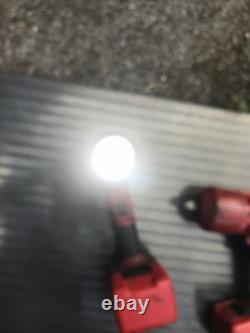 Snap Sur 1/2 18v Sans Fil De L'impact De L'arme De Frappe Monster Lithium Et De La Torche Et De La Batterie
