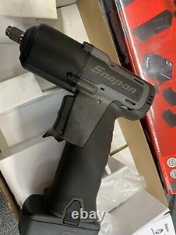 Snap Sur 3/8 Clé D'impact 14,4v Gun Metal Grafitti Grey