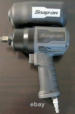 Snap Sur Pt850gg Pt850 Gun Metal 1/2 Drive Air Impact Clé Avec Boot L@@k