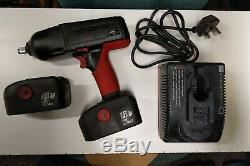 Snap-on 1/2 18v À Percussion Sans Fil Clé Gun, 2x 3.5ah Batteries Nouvellement Remises À Neuf