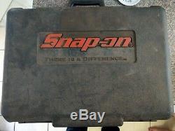 Snap-on 1/2 18v Chocs Sans Fil Clé Gun 2x 6.0ah Batteries Li-ion Remises À Neuf