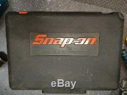 Snap-on 1/2 18v Sans Fil Clé À Chocs Gun, Batterie 2.5ah Nicd Et Cas