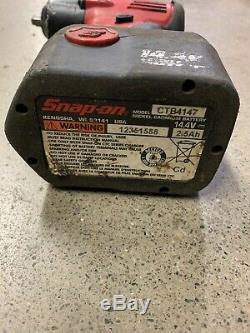 Snap-on 3/8 Pouces D'entraînement Clé À Chocs Gun Outil Chargeur De Batterie Sans Fil Ct4410