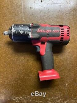 Snap-on Ct8850 18 Volt 1/2 Lecteur Lithium-ion Sans Fil Impact Cle Gun Beau