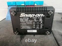 Snap-on Ct8850 1/2 Drive Clé D'impact Sans Fil 18v Reconditionné Pistolet Et Chargeur