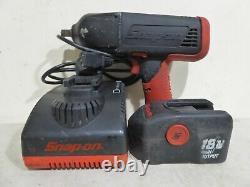 Snap-on Ctu4850 18v 1/2 Clé D'impact Et 1 Batterie Et Chargeur