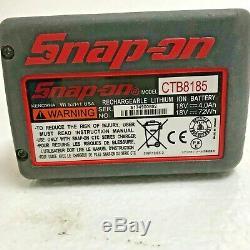 Snap-on Lithium Ion Ct8850 18v 18 Volt Percussion Sans Fil 1/2 Clé / Gun
