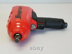 Snap-on Mg725 1/2 Heavy Duty Air Impact Wrench Gun Classic Red, Nouveau