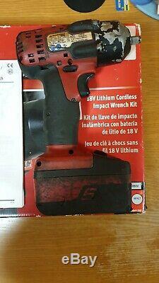 Snap-on Tools Cteu8810 18v 3/8 Gun Impact Clé Avec Batterie