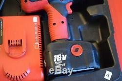 Snap-on Tools Haute De Sortie 1/2 D'entraînement Sans Fil Clé À Chocs Pistolet Dans Le Cas (4)