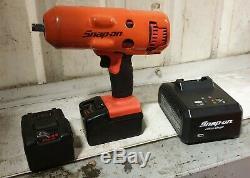 Snap-on Tools Monster Lithium Ion 1/2 Lecteur Sans Fil D'impact Pistolet Clé (4)