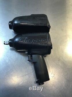 Snap-on Tools Super Duty Pneumatique Clé À Chocs Pistolet À Air Mg725 1/2 Lecteur #p