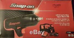 Snapon Ct6850 1/2 Clé À Percussion Pour Batterie, 2 Piles, Chargeur Et Sac
