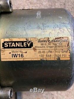 Stanley Clé À Chocs Hydraulique / Arme À Feu, Iw16, 1, Underwater