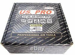 Us Pro 3/4 D'entraînement Heavy Duty Gun Air Clé À Chocs 400 Lb-pi Garages Etc 8524