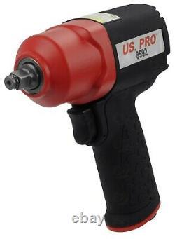 Us Pro 3/8 Dr Gun D'impact Aérien 536nm Composite D'impact Aérien 536nm